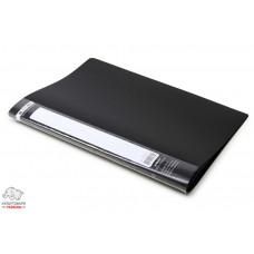 Дисплей-книга 10 файлов BuroMax Jobmax А4 пластиковая цвет черный Арт. BM.3600-01