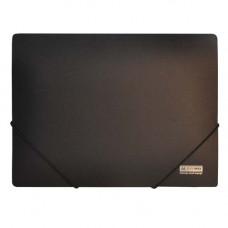 Папка на резинке BuroMax А4 пластик черный Арт. BM.3911-01