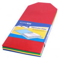 Разделительные полоски пластиковые Economix размер 105х240 мм 100 штук Арт. Е30810