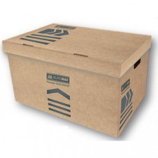Короб для архивных боксов BuroMax размер 56х38х26,5 см крафт-картон BM.3270-34