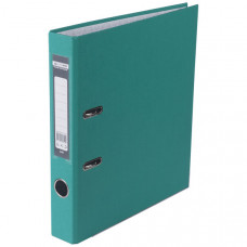 Папка-регистратор 5 см BuroMax А4 односторонняя цвет бирюзовый ВМ.3012-06с