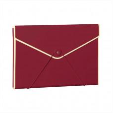 Папка на резинке Semikolon А4 цвет бордовый Арт. 633-05