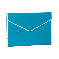 Папка на резинке Semikolon А4 цвет бирюзовый Арт. 633-19
