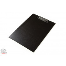 Клип-планшет BuroMax А4 PVC цвет черный Арт. BM.3411-01