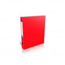 Папка 4 кольца Economix А4 О-образные ширина 4,0 см красная Е30710-03
