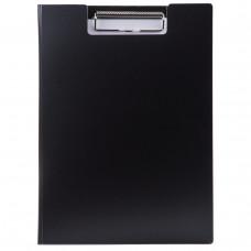 Папка-планшет Economix А4 с прижимом пластик цвет черный Арт. Е30153-01