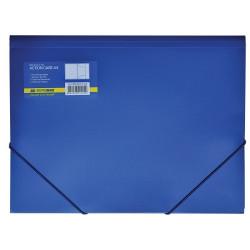 Папка на резинке BUROMAX А4 пластик синяя (BM.3913-02)