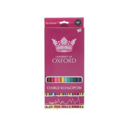 Карандаши цветные 1 Вересня Oxford 12 цветов (290239)