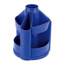 Подставка-органайзер Delta by Axent без наполнения пластик синий ( D3003-02)