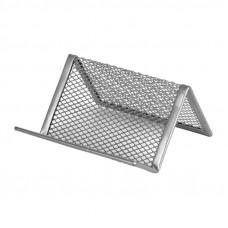 Подставка для визиток Axent металл. сетка серебро ( 2114-03-A)