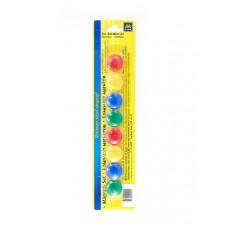 Набор магнитов BuroMax d 2 см 8 штук цветные Арт. BM.0021-82