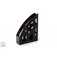 Лоток для бумаг вертикальный Delta by Axent пластик черный Арт. D4006-01