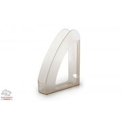 Лоток для бумаг вертикальный Delta by Axent пластик дымчатый Арт. 4004-28