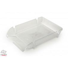 Лоток для бумаг горизонтальный Delta by Axent пластик прозрачный Арт. D4002 13902