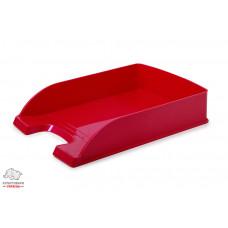 Лоток для бумаг горизонтальный Leitz WOW пластик розовый металлик Арт. 52263023