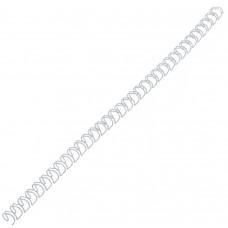 Пружина металлическая d 12,7 мм белая /за уп. 100 штук/