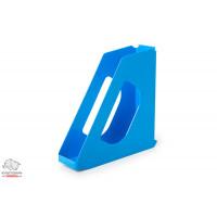 Лоток для бумаг вертикальный Esselte VIVIDA пластик голубой Арт. 623937