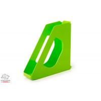 Лоток для бумаг вертикальный Esselte VIVIDA  пластик салатовый Арт. 623938
