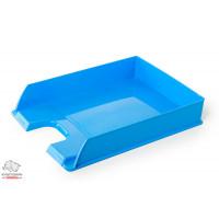 Лоток для бумаг горизонтальный Esselte VIVIDA пластик голубой Арт. 623926