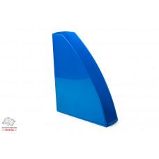 Лоток для бумаг вертикальный Leitz WOW пластик голубой металлик Арт. 52771036