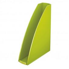 Лоток для бумаг вертикальный Leitz WOW пластик зеленый металлик Арт. 52771046