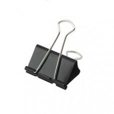 Биндер BuroMax 25 мм металлический черный  /за 12 шт/ (ВМ.5304)