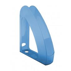 Лоток для бумаг вертикальный Delta by Axent пластик синий Арт. 4004-02