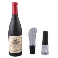 Набор для вина Подарочный штопор, пробка, дозатор Арт. 752-006