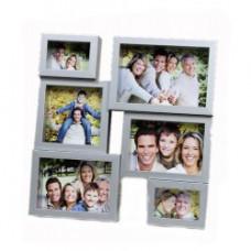 Фоторамка Семейная история на 6 фото пласт. багет Арт. СНК-137
