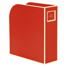 Лоток для бумаг вертикальный Semikolon А4 красный Арт. 336-04