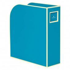 Лоток для бумаг вертикальный Semikolon А4 бирюзовый Арт. 336-19