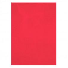 Обложка для переплета Axent А4 180 мкм пластик прозрачный 50 штук красный Арт. 2720-06-A