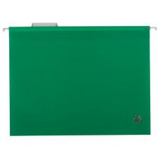 Файл (Папка, обложка) подвесной для картотеки BuroMax А4 пластик зеленый (ВМ.3360-04)