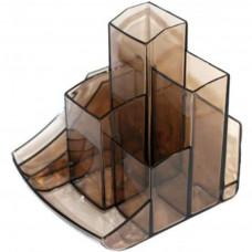 Подставка-органайзер Спектр без наполнения пластик дымчатый ( ПН-2д)