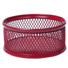 Бокс для скрепок BuroMax металл. сетка красный, Арт. BM.6221-05