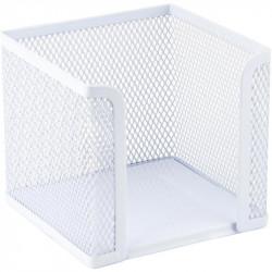 Бокс для бумаг Axent 10х10х10 см металл. сетка белый Арт. 2112-21-A