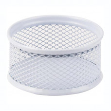 Бокс для скрепок Axent металл. сетка белый, Арт. 2113-21-A