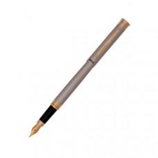 Ручка перьевая Regal цвет никель в бархатном чехле (R68002.F)