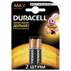 (Елемент живлення) батарейка Duracell LR03 MN2400 (ААА) упаковка 2шт.