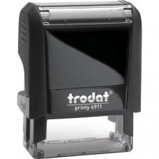 Оснастка для штампа Trodat Printy 38х14 мм корпус черный Арт. 4911 P4