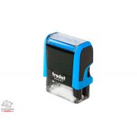 Оснастка для штампа Trodat 38х14 мм с клише ВІДПУЩЕНО корпус синий Арт. Р4 4911
