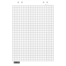 Бумага для флипчарта BuroMax 90х64 см 10 листов клетка Арт. BM.2295