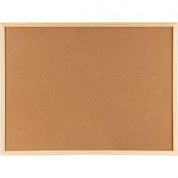 Доска пробковая Axent 90х120см деревянная рамка 9603-А