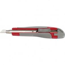Нож канцелярский Axent 9 мм в пластиковом корпусе + 2 сменных лезвия Арт. 6701-A