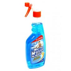 Средство для стекла Мистер Мускул 500 мл с распылителем синий Арт. 164745
