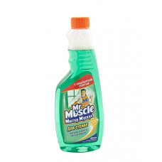 Средство для стекла Мистер Мускул 500 мл с нашатырным спиртом зеленый запаска Арт.103525