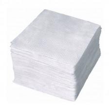 Салфетки столовые 1 слойные с тиснением 500 штук белые