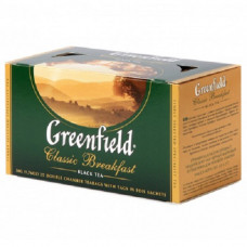 Чай Greenfield Classik Breakfast черный байховый 25 пакетиков