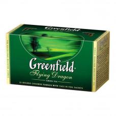 Чай Greenfield Flying Dragon зеленый байховый 25 пакетиков