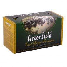 Чай Greenfield Earl Grey Fantasy черный с ароматом бергамота 25 пакетиков